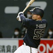 オリックス・T-岡田が藤川球児から特大3ラン「いい手応えだった」