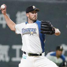 日本ハムの外国人3選手が帰国
