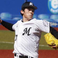 ロッテ・佐々木朗希が初の打撃投手 福田光「高めのボールは…」