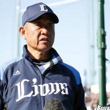 西武の辻監督、松井二軍監督が高校球児へエール 「野球を好きでい続けてください」