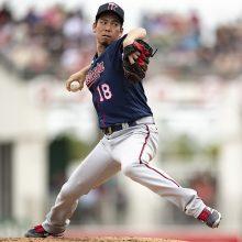 ツインズ・前田健太が今年一番の快投!4回を6奪三振で無失点