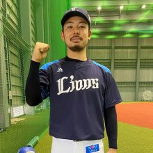 開幕ローテを狙う西武・本田が調整に手ごたえ…球質も髭もシーズン仕様へ!?