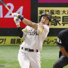 ソフトバンク、柳田が今季初スタメン外 23日のオリックス戦スタメン発表
