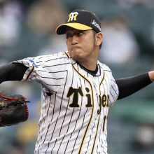 阪神・岩貞、豪雨被害の故郷・熊本に届ける快投2勝目 大山が2本の援護打!
