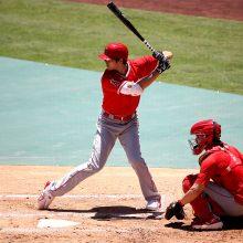 エンゼルス・大谷、「腰に張り」もなんの ブルペン投球に実戦で二塁打と状態上向き