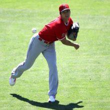 エンゼルス大谷、打者9人に対し7四球 紅白戦で674日ぶり実戦登板