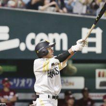ソフトバンク・柳田が月間32得点のプロ野球タイ記録「チームメイトに感謝」