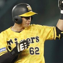 阪神・植田が2点適時二塁打に亀山氏「良く打ちました!」