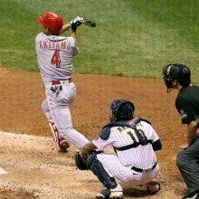 レッズ秋山、途中出場で適時三塁打&四球 2打席連続出塁で連勝に貢献!
