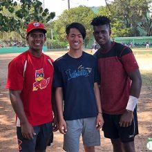 海外の野球を学びたい、野球の頂点を見たい。20歳の青年の旅立ち