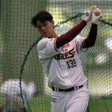枡田氏、プロ初本塁打を放った楽天・下妻に「おめでとうございます」
