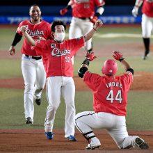 ロッテ・益田、サヨナラ勝ちを呼び込む17球