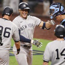 ヤンキース、一発攻勢で地区S白星発進 レイズは逆転負け、筒香は出番なし