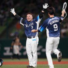 8月の『ライオンズベストプレー賞』は山川のサヨナラ打に決定 「ファンの皆さんに感謝」