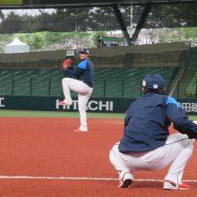 """2試合連続無失点中の西武・髙橋光成が""""大事な一戦""""に向けて調整「自分のペースで投げていくことができたら」"""