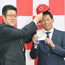 広島が新入団選手の背番号を発表 ドラ1栗林は20番「一年目から活躍したい」