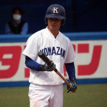 西武4位指名!駒澤大・若林楽人「走攻守でアピールを」 対戦してみたい投手は…?