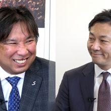 """里崎さん「ドラフトはしない?」 Bリーグの""""気になること""""を島田チェアマンに直球質問!"""
