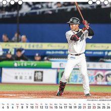ファン歓喜!?ロッテ・藤原の2021年卓上カレンダーを販売