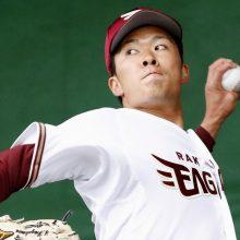 楽天ドラ1・早川、6回0封でプロ初勝利 2度の満塁も「根気強く投げられた」
