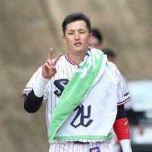 燕のドラ4・元山がプロ初安打に続き初本塁打 途中出場で2安打2打点の活躍