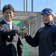 侍ジャパンの稲葉監督らがオリックスキャンプを視察