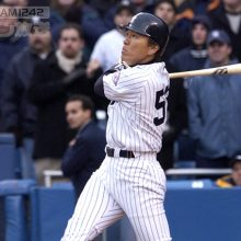 松井秀喜 NY開幕戦満塁弾のあと、実況アナにかけた言葉