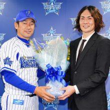 DeNA、石川雄洋が引退会見「ファンの皆様は宝物」三浦監督登場のサプライズも