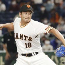 巨人の開幕投手・菅野が抹消 予告先発を除きセパ8選手が入れ替え 30日のプロ野球公示