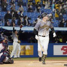 阪神・サンズが2度の勝ち越し弾!「いいスイングができた」