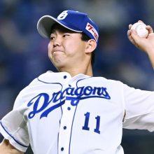 中日・小笠原、7回1失点で今季初勝利 開幕から3試合連続の好投で防御率1.45