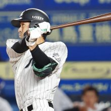 ロッテ、6連勝で2位浮上 サヨナラ弾の岡「いい雰囲気で野球ができている」