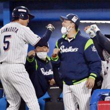 代打で決勝打のヤクルト川端を井端氏が称賛「バットコントロールは球界トップクラス」