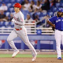 大谷、3号ソロでメジャー通算50本塁打到達 3点二塁打含む4打点で連勝に導く