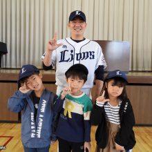 西武が埼玉県内の小学1年生約6万人にオリジナルキャップをプレゼント