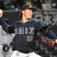 オリックス・山本由伸が自己ワースト10安打 7回途中5失点で今季3敗目