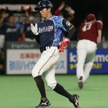日本ハムの韋駄天ルーキー・五十幡が俊足を披露! 高木豊氏「ヤクルトの並木と競争させたい」