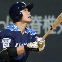 日本ハム・王柏融が4番の仕事「皆が作ってくれたチャンス」決勝点含む2打点