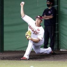 楽天の高田が初登板で危険球退場 金村氏「切り替えるのは難しいと思うけど…」