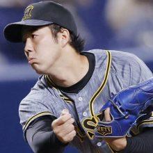 阪神は初回猛攻で4連勝 青柳トップタイ11勝目、佐藤輝も安打