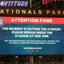 スタジアムに銃声が響き騒然… ナショナルズ対パドレスは試合中断