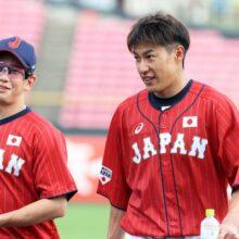 侍ジャパン、源田、柳田、梅野がスタメン入り 巨人と本番前最後の強化試合