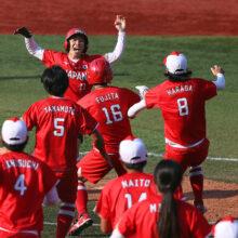 ソフトボール・日本代表が決勝進出 カナダをサヨナラで下しメダル確定
