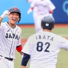 侍ジャパン・坂本「初球から思い切って」初見相手も一振りでサヨナラ打