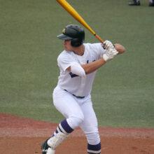 左投げながら三塁も守る男 愛工大名電・田村俊介の打撃技術にスカウト陣から熱視線