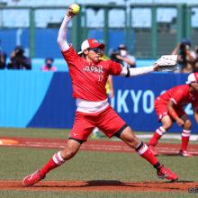 ソフトボール日本代表が一発攻勢で5回コールド発進!先発・上野が5回途中7K