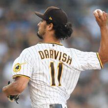 ダルビッシュ、6回5失点で降板 今季ワースト3被弾、相手投手にも一発浴びる
