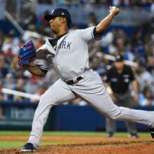ヤンキース、3連勝で貯金8 前中日のロドリゲスが移籍後初登板で勝利投手