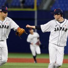 侍ジャパン、1点リードで折り返し 勝てば金の五輪決勝で米と激突
