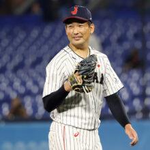 侍ジャパン・建山コーチが2ショット&秘話公開 阪神・岩崎へ「ホントに頼もしかった」